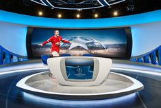 ORF Sports Broadcast Set Design Gallery
