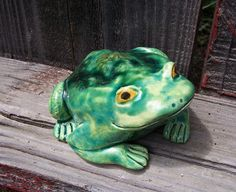 Frog by Dragonware on Etsy
