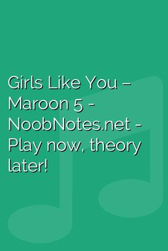 Girls Like You - Maroon 5 music notes for newbies: Girls Like You – Maroon Play popular songs and traditional music with note letters for easy fun beginner instrument practice - great for flute, piccolo, recorder, piano and Beginner Piano Music, Easy Piano Songs, Uke Songs, Piano Sheet Music Letters, Flute Sheet Music, Piano Music Notes, Disney Piano Music, Letter Song, Song Notes