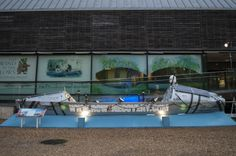 2012 - Row 2 Recovery boat was on display at the River & Rowing Museum.