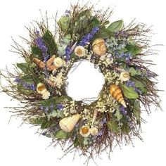 I can make this! 22 in. Kennebunkport Shore Wreath - Walmart.com