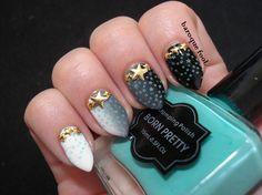 BornPretty Store: Stamping polish no. Star Nail Art, Star Nails, Falling Stars, Polish, Stamp, Pretty, Shooting Stars, Varnishes, Stamps
