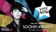 Vote for your favorites in K-pop and K-drama in the Soompi Awards 2015!