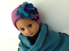 Bandeau écharpe automne hiver : Mode filles par creation-valerie-castets