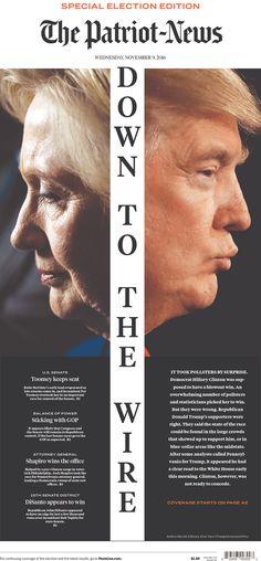 THE PATRIOT-NEWS 11/9/16 Newseum