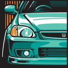///////////// Design & Automotive Art ///////////// To Create & Inspire. Enquiries: likehelldesign (No DMs) ///////////// Design & Automotive Art ///////////// To Create & Inspire. Enquiries: likehelldesign (No DMs) Honda Civic 2000, Honda Civic Coupe, Honda S2000, Honda Civic Hatchback, Civic Jdm, Cool Car Drawings, Soichiro Honda, Honda Cars, Car Illustration