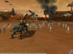 Star Wars: The Clone Warson the Playstation 2