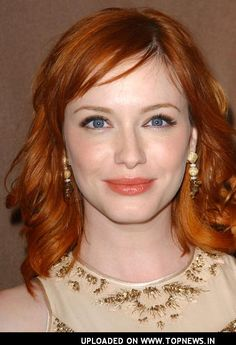 Make up inspiration photos for redheads? :  wedding makeup redhead Christina Hendricks1 0