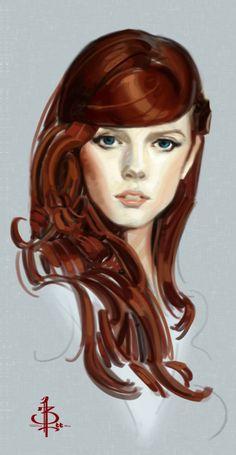 BTANK: Pretty Red Hair