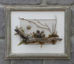 small pebble art | Rock And Pebble Art To Make Your Living Space Come Alive…