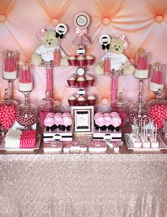 Blush Sequin Tablecloth looks like Rose Gold by CandyCrushEvents, $165.00