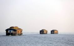 House Boats through Great Backwaters