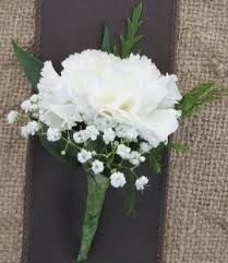 fathers carnation boutonnieres - Google Search
