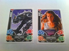 Topps Transformers 47 56 Decepticon Ravage & Alice 2014 Trading Cards
