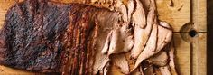 Smoked Flat-Cut Brisket with Coffee.