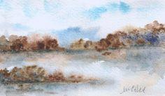 """""""Riflessi"""" watercolor by M-Cristina De Amicis"""