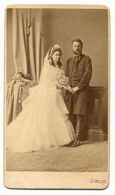 Beautiful Vintage Bride and her Southern Gentleman.