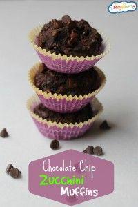 Chocolate chip zucchini muffins! I love it <3 !