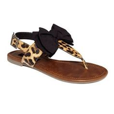 CHEETAH SANDLES? I THINK YES!