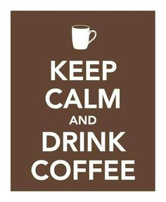 There is no other way to be until I have had my coffee!