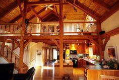 Image result for two story wooden  house interior design
