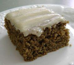 Sourdough Spice Cake