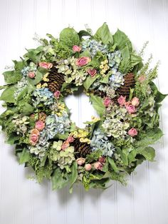 Dried Flower Wreath,  Dried Flowers