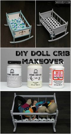 A DIY Crib Doll Make