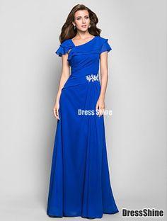 I like this - A-line Square Floor-length Chiffon Evening Dress. Do you think I should buy it?