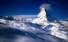 マッターホルンヴァレー州、スイス 山地 自然 高解像度で壁紙