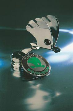 …_Škoda Auto…Brought to you by House of Insurance in – En Güncel Araba Resimleri Car Badges, Car Logos, Vintage Cars, Antique Cars, Car Symbols, Car Bonnet, Car Hood Ornaments, Mens Toys, Old Tractors