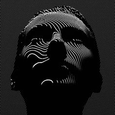 Abstract at a glance, the black and white lines animated by Prague-based artist…