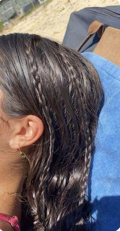 Summer Hairstyles, Pretty Hairstyles, Swimming Hairstyles, Hair Inspo, Hair Inspiration, Aesthetic Hair, Aesthetic Makeup, Dream Hair, Bad Hair
