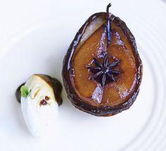 Individual Caramel Pear Tatin with anis and vanilla by Gordon Ramsay