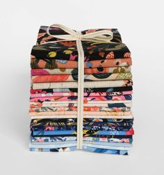 Fat Quarter Bundle Screen Printed Assorted Fabrics