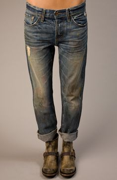 The perfect boyfriend jean #NSF Beck Straight Slouch Jean - http://www.sofialivelovely.com/shop/beck-straight-slouch-jean/