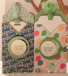 Instructions: Coupon 1 - with the folding board for envelopes / with stampin & # up . Envelope Punch Board, Stamping Up, Scrapbook, Diy, Coupon, Tic Tac, Erika, Envelopes, Album