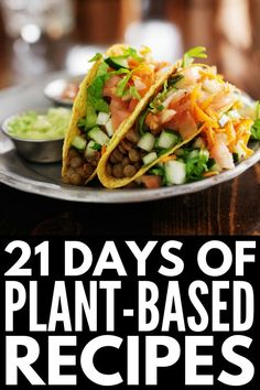 Plant Based Diet Meal Plan for Beginners: Kickstart Guide! – 21 Days of … Plant Based Diet Meal Plan for Beginners: Kickstart Guide! – 21 Days of Plant Based Recipes for Weight Loss Plant Based Diet Meals, Plant Based Meal Planning, Plant Based Eating, Plant Based Dinner Recipes, Plant Base Diet Recipes, Plant Based Diet Plan, Plant Diet, Vegan Recipes Plant Based, Ketogenic Diet Meal Plan
