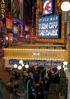 Spider-Man Turn Off The Dark Broadway Marquee