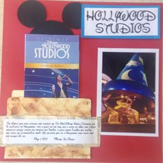 Hollywood studios cover page