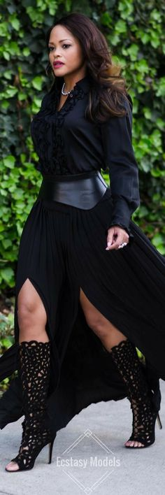 OWN IT & SLAY // Fashion Look by Rita Kay Davis