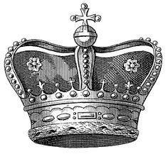 Vintage Image Download - Royal Crown - The Graphics Fairy