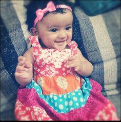Princess all dressed up :)