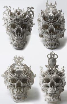 Skulls: Porcelain, Katsuyo Aoki.
