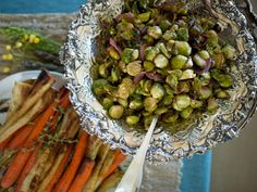 36 Thanksgiving Recipes for Main Dishes & Sides: Brussels Sprouts with Onions >> http://www.hgtv.com/design/make-and-celebrate/entertaining/recipes-for-your-thanksgiving-feast-pictures?soc=pinterest