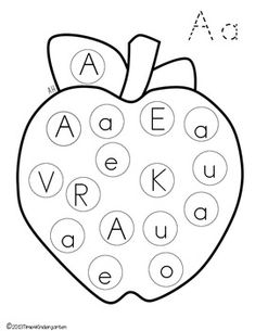 Great for pre-K letter recognition! | Printables | Pinterest ...