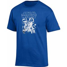 Champion Concordia University Wisconsin Falcons Star Wars T-Shirt $18.00