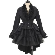姫袖フリルジャケット  ロリィタファッション MARBLE | マーブル