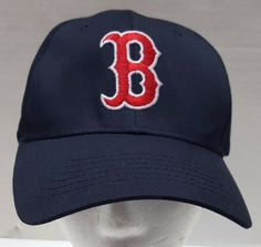6feebb91a53 MLB Boston Red Sox Blue Hat Red B Snapback One Size Twin Enterprises   TwinsEnterprise