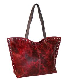 Take a look at this Red Starry Starry Tote by Nino Bossi Handbags on #zulily today!